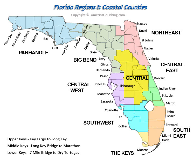 Maps Counties Cities America Go Fishing Online Store New - Map of florida counties