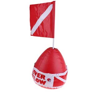 Inflatable Dive Flag & Float
